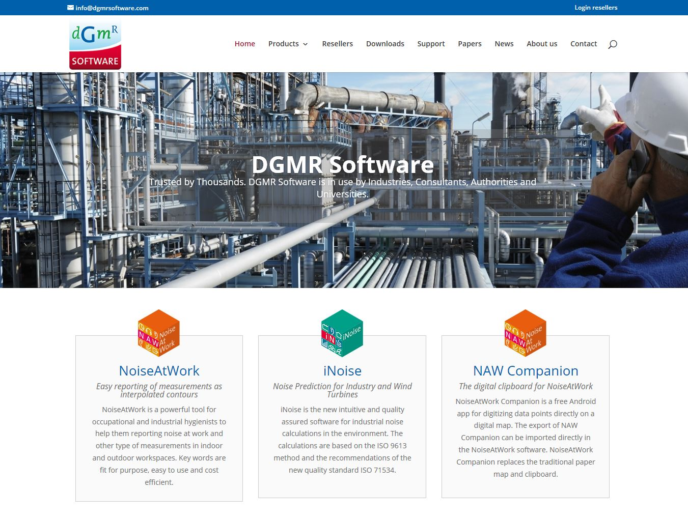 DGMR Software | sustainability, safety, health and environment