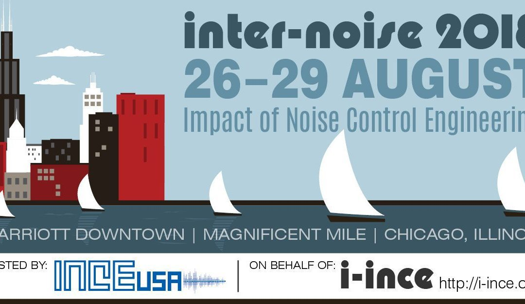 Meet us at Inter-Noise 2018 in Chicago